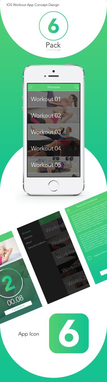 6 Pack - iOS App