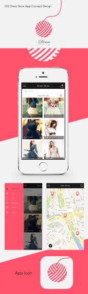 Dress Store - iOS App