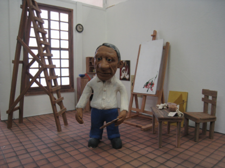 picasso_with_guernica_clayanimation_1