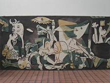 Guernica-Clay Painting-2009