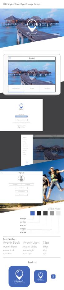 Tropical - iOS App